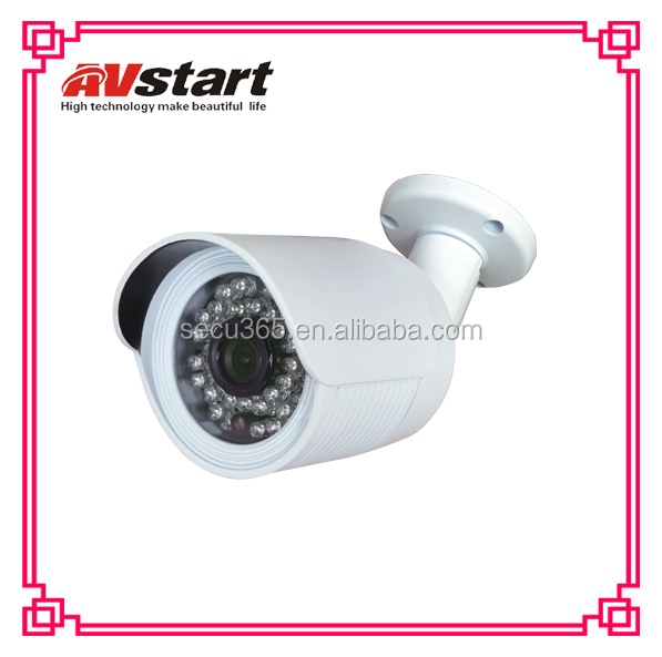 1.3MP Megapixel AHD Camera Metal Bullet Waterproof Top 10 CCTV Camera manufacturer