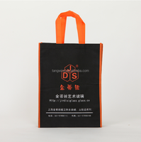 (TWS7001) wholesale Environmental pictures silk screen printing non woven shopping bag