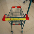 Mini kids shopping trolley with different colour