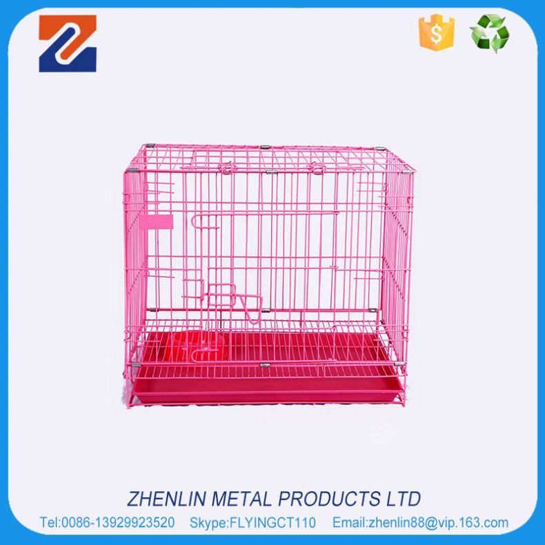 Factory wholesale good quality promation pet air carrier / dog cage
