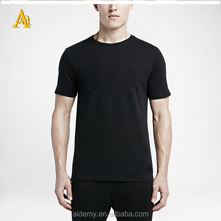 High quality wholesale athletic fit t shirts gym t shirt Bulk quality t shirts