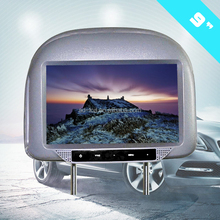 9 inch taxi video advertising player headrest dvd player bus lcd advertising player