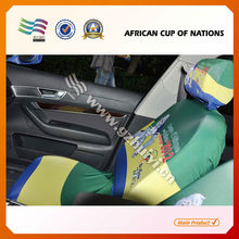 Travel Car Flag Car Seat Head Steering Wheel Covers