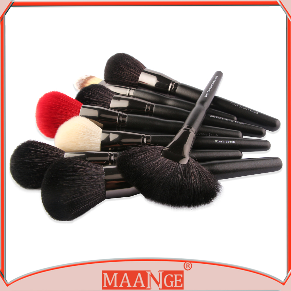 2017 NEW MOQ 50PCS print your logo wholesale custom logo makeup brush 32 pcs/set make up brush