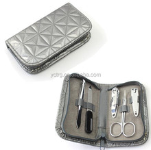 Pedicure/Manicure Set Nail Clippers Kit Case