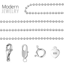 Bulk Long Wholesale Silver Simple Design Custom Jewelry Type Different Style Fashion Necklace Chain