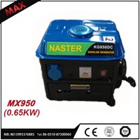 2017 High Quality Used Natural Gas Generator 650w With Strong Frame