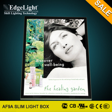 Edgelight cinema letters lights box advertising price sign boards for shops