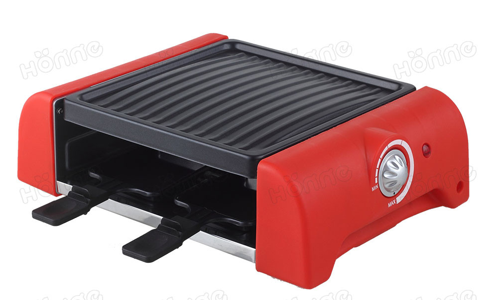 8 Persons Electric Powerful Raclette BBQ Grill