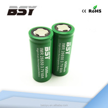 High Capacity BSY 26650 Li-ion Battery Vapor Mod 26650 Battery Box