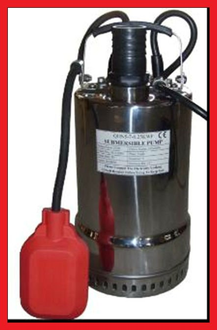1/2 HP Cast Iron/stainless steel Dual Float Switch submersible sewage Pump BW1050