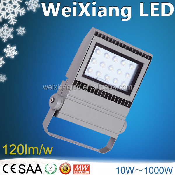 High Brightness strong bracket 45w led flood light led exterior building decoration lights narrow beam led spot light outdoor