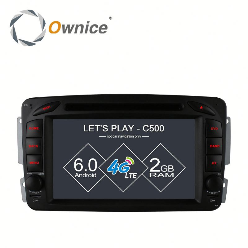 Ownice Cortex A53 4Core Android 6.0 for Mercedes benz dvd/car dvd with 16G rom support 4G