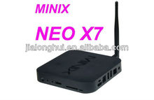 2013 Newest Minix Neo X7 RK 3188 Quad Core Andriod 4.2 TV Box Cortex-A9 1.6GHz 2GB RAM 16GB Flash RJ45 MINIX X7