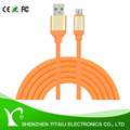 1.2m Micro USB Cable, Super Durable Charging and Data Sync Cord for Android/Windows/MP3/Camera and other Device 2.4A
