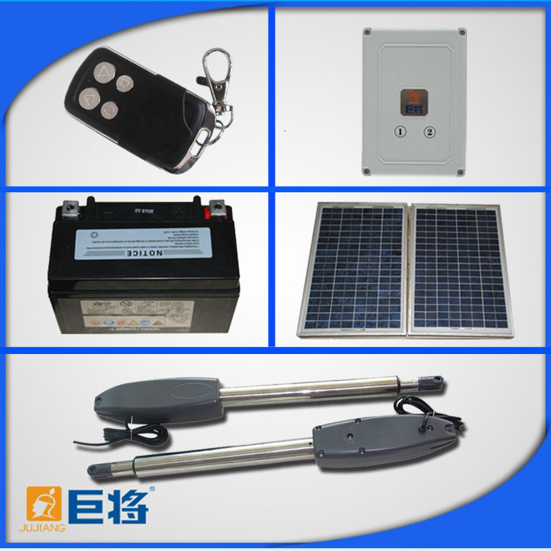 Solar Automatic Double Swing Gate Openers