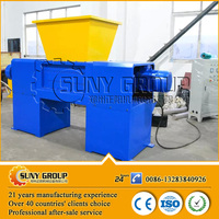 industrial metal shredder/cardboard shredder machine/shaft shredder