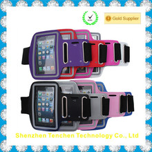 Neoprene Waterproof Sports reflective armband case cover