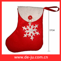 Small size simple snowflake christmas stocking holders