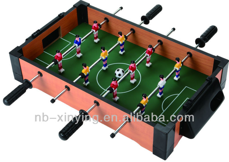 Mini Wooden Tabletop Foosball Game With 4