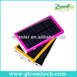 Portable light weight solar power information with small size for mobile phones 3000mAh