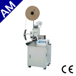 Wire cable cutting stripping crimping machine AM201, Patch cord crimping machine assembly equipment