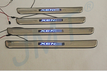 Classical Style!! Xenia LED scuff plate,door sill plate