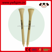 Wholesale promotional bulk wooden golf tee