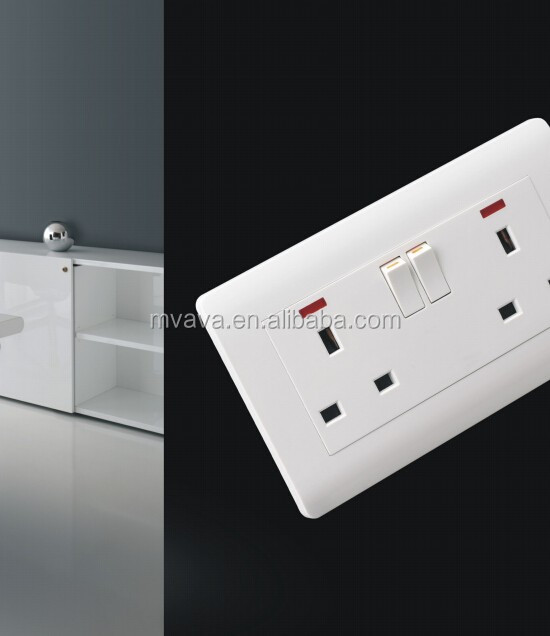 LMN FACOTORY !wall switch socket ,1 gang 1 way PC material