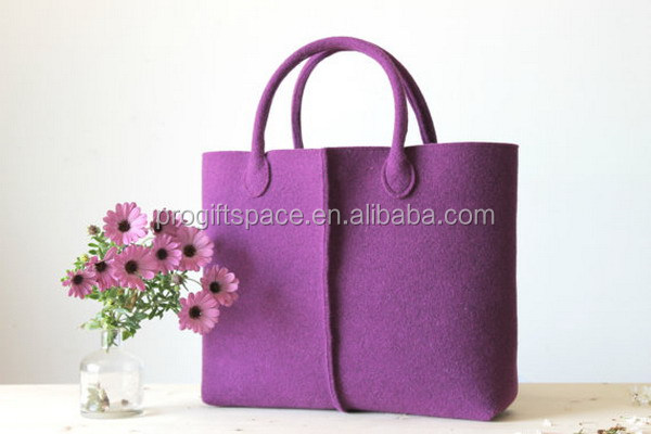2017 hot sell coloured felt bag from Italy made in China