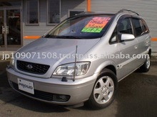 2002 Used car SUBARU TRAVIQ L package/Van/RHD/49000km/Gas/Petrol/Silver
