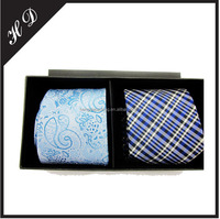 Luxury Black Special Paper Necktie Gift Packing Box