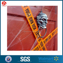 New design plastic type Haloween decoration banner / caution tape