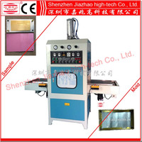 JZ-DR Single head heating welding forming machine for mobile/computer leather cover