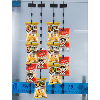 Customized display metal clip strip hook