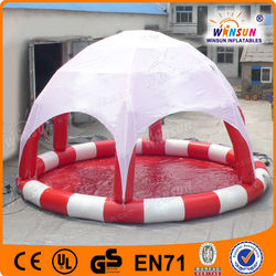 Summer attractive small cheap inflatable swimming pool for kids