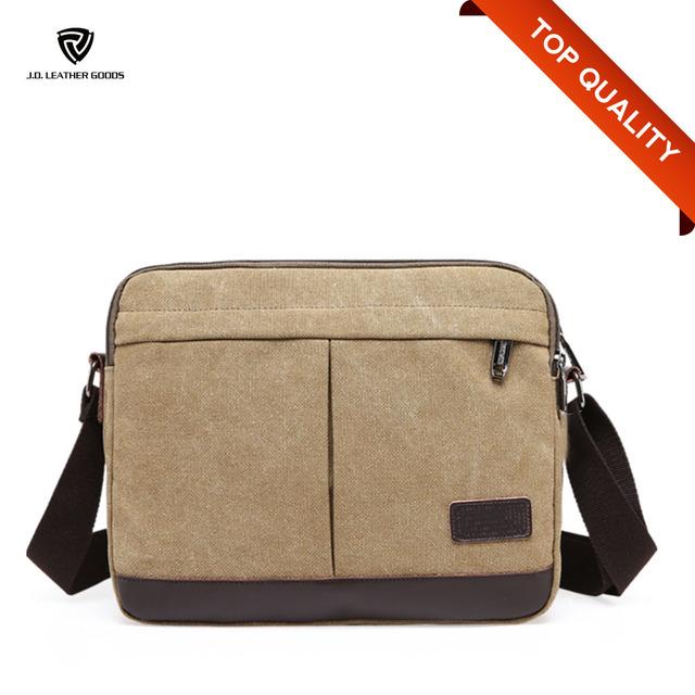Sling Canvas Bag Messenger School Bag