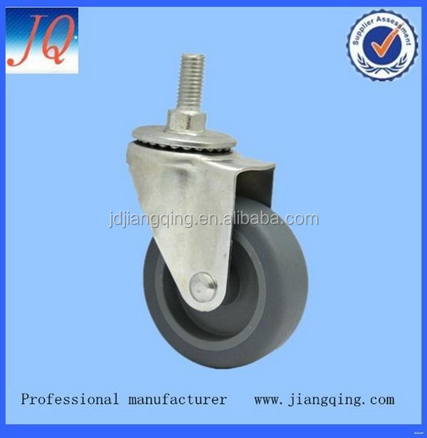 New classical heavy duty pu industrial caster wheel