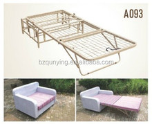 Self-developed metal structure stackable sofa bed mechanism frame A093