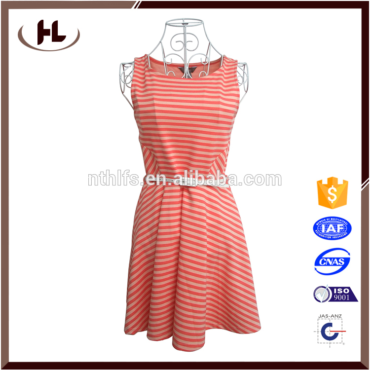 Professional lady cotton dress