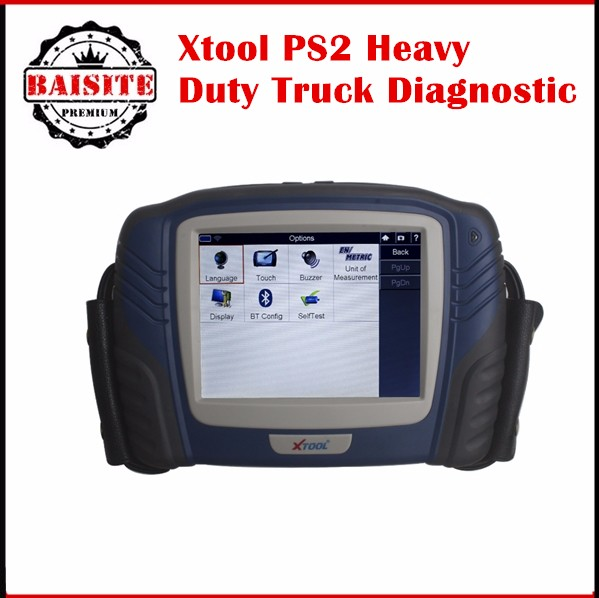 2017 Original XTOOL PS2 Professional Automobile PS2 Heavy Duty Truck Diagnostic Tool Update Online No Need To Connect With PC