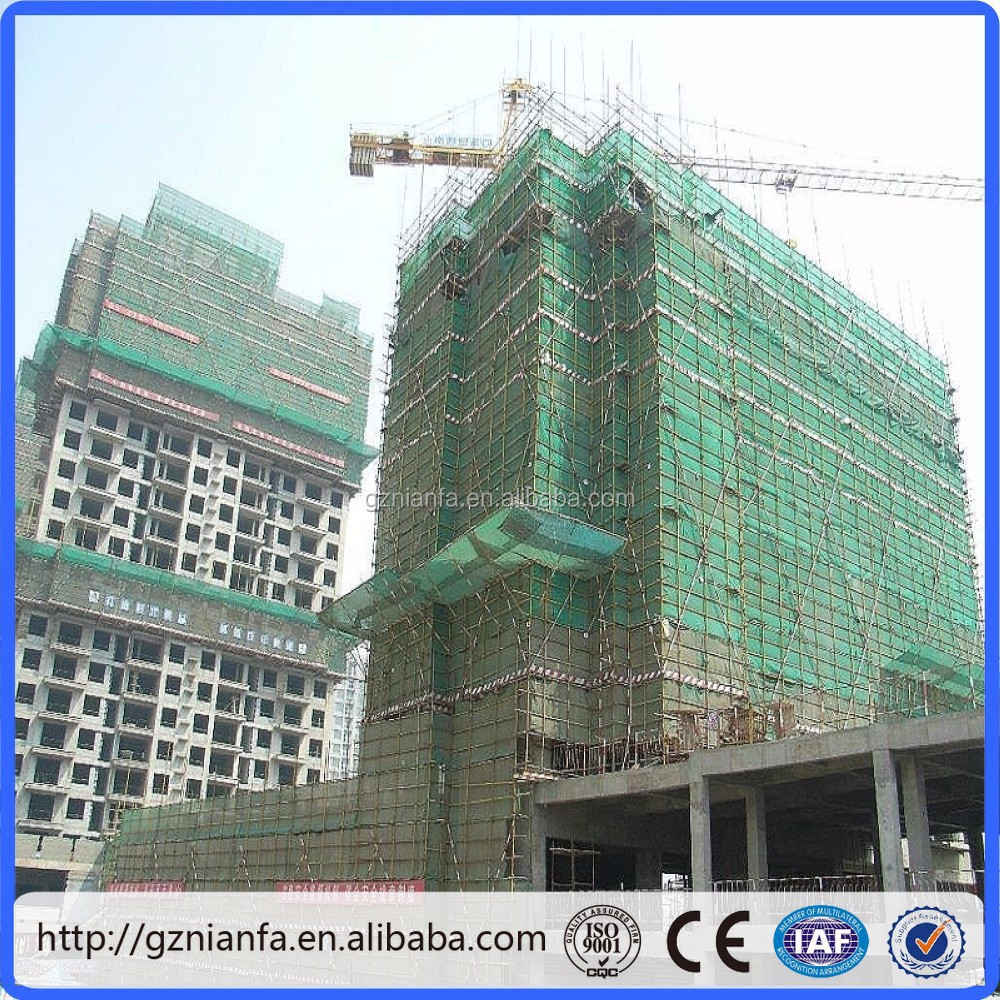 Malaysia used Scaffold Safety Net/HDPE Balcony Safety Net/Safety Net(Guangzhou Factory)