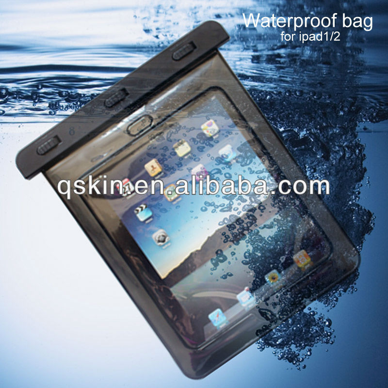 Cooskin plastic waterproof pouch for ipad air