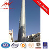 electric galvanized monopole tower with good quality