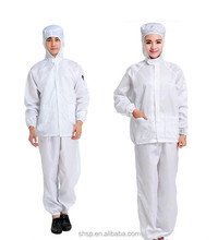 disposable esd polyester working smock coverall