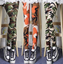 Fashion new design Camouflage woman leggings for summer spring