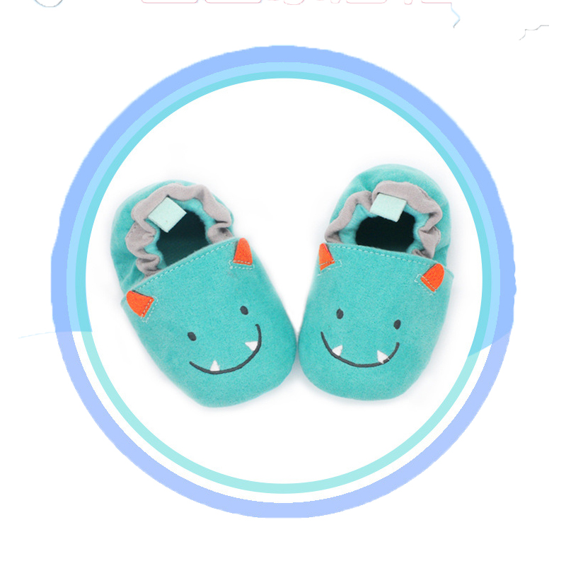 Autumn and winter hot 0-2 year old baby shoes soft cartoon casual warm toddler shoes children's shoes