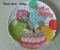 tray melamine white round,new dinner set plates melamine dinner sets for kids