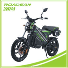 Powerful bluetooth electric motorcycle for adult 800W/1000W/1200W electric dirt bike Green zero electric motorcycle