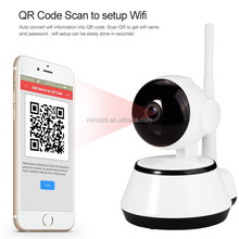 IR-cut Night Vision PTZ Video Recordable Home Security HD Wifi Smart Net Camera